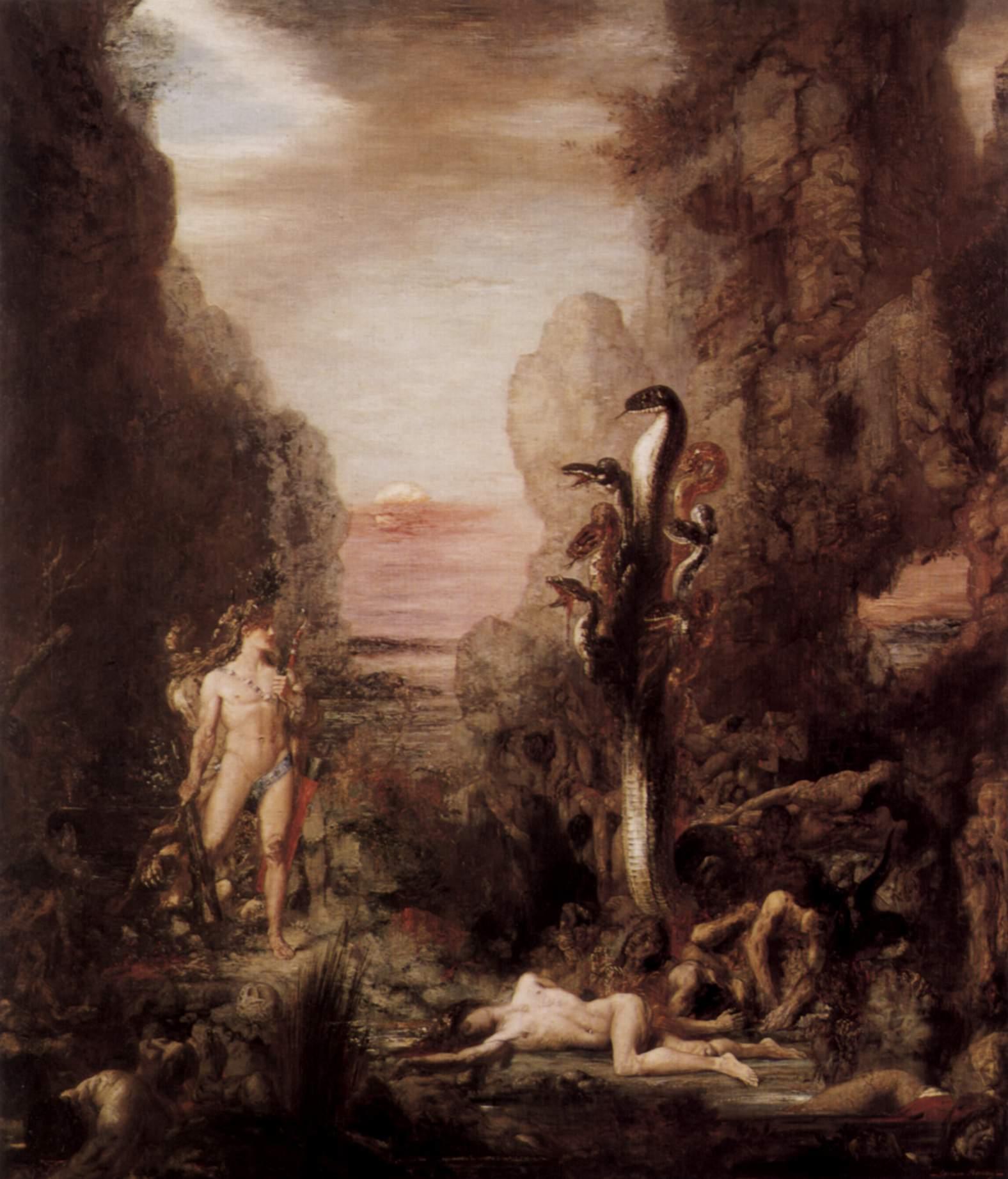 Hércules y la hidra